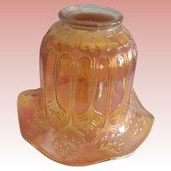 Art Nouveau Carnival Glass Shade