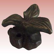 """Fulper Pottery Flower Frog """"Plaintain"""""""