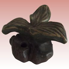 "Fulper Pottery Flower Frog ""Plaintain"""