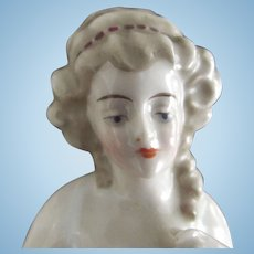 Pincushion Lady With Red Beading In Her Hair, Arms Away