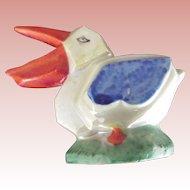 Art Deco Pelican Pin Cushion