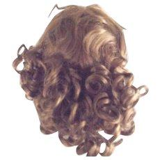 Synthetic  Auburn  Mohair Long Wig