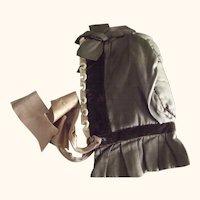 Victorian Winter Bonnet