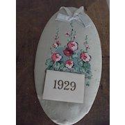 Silk 1906 Calendar Krueger Advertisement Calendar