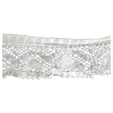 Lace Yardage Off Victorian/Edwardian Petticoat Bottom