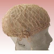 Crocheted Flapper Cap