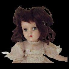 Dark Haired Toni Doll,Original Dress P 90 - Red Tag Sale Item