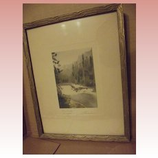 The Trouts' Delight by Davidson