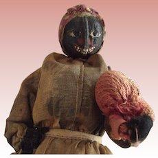 Loveleigh Ethnic Doll Holding Sack