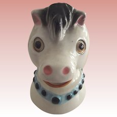 Cream Pitcher With Horse Head