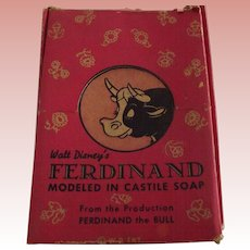 Ferdinand Soap In Original Box With Great Graphics