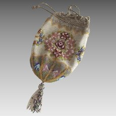 Beaded Flapper Bag, Purse