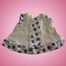 Doll Dress L 1940' or 50's