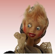 "Klumpe Doll ""The Lace Maker"""