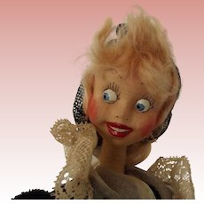 "Klumpe Doll ""The Lace Maker"""