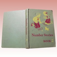 "Old School Textbook ""Number Stories Book 2"" 1942"