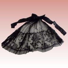 Black Victorian Neck Piece