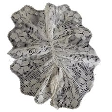 Lacy Neck Trim, Dress Ruffle