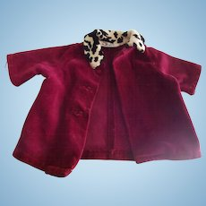 Doll Coat   For 40's or 50's doll