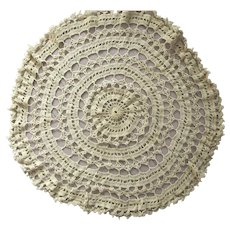 Round Doily and Long Doily Runner