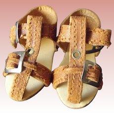 German Doll Sandals