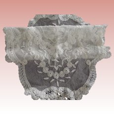 Lace and Net Doily
