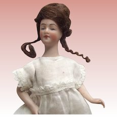 Bisque Pincushion Doll With Jointed Arms