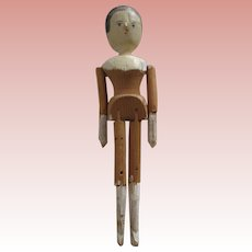 Penny Wood Doll As Is