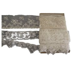 Three Different Pieces of Lace