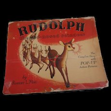 Rudolph The Red_Nosed Reindeer Pop-Up Book