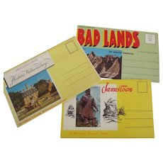 Three U.S. States Postcard Packets