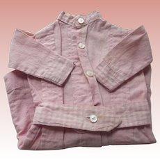 Pink Cotton Doll Dress
