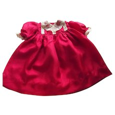 Red Silk Doll Dress