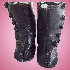 Black Doll Boots