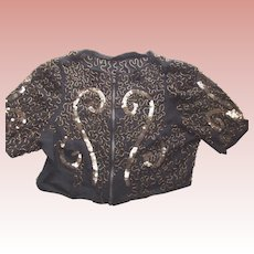 Sequin and Beaded Blouse Circa 1920 or 1930