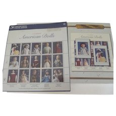 Classic American Dolls Stamps and Postcards 1977