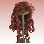 Auburn  Mohair Wig