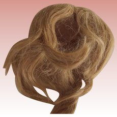 Blonde Human Hair Wig With Pate