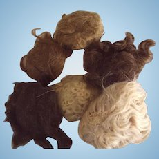 Human Hair and Mohair Wigs