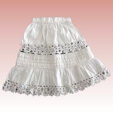 Petticoat For Doll