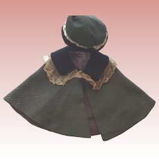 Doll Cape and Hat