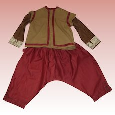 Early Costume With Top and Pants