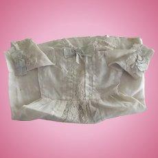 Early Silk Doll Dress