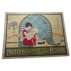 Betty's Painting and Cutout Book