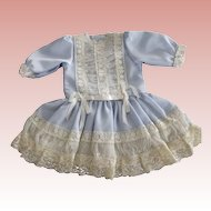 Lacy Blue Doll Dress