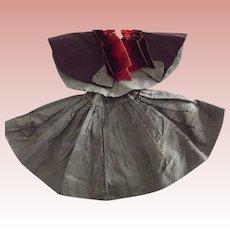Taffeta Cape and Skirt