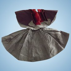 Taffeta Cape and Skirt