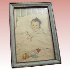 Bessie Pease Gutmann Baby's First Christmas 1910