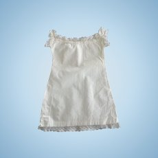 Early Nightgown or Slip For Doll