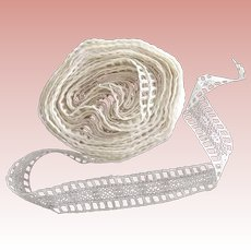 Large Roll of Insertion Lace Beading